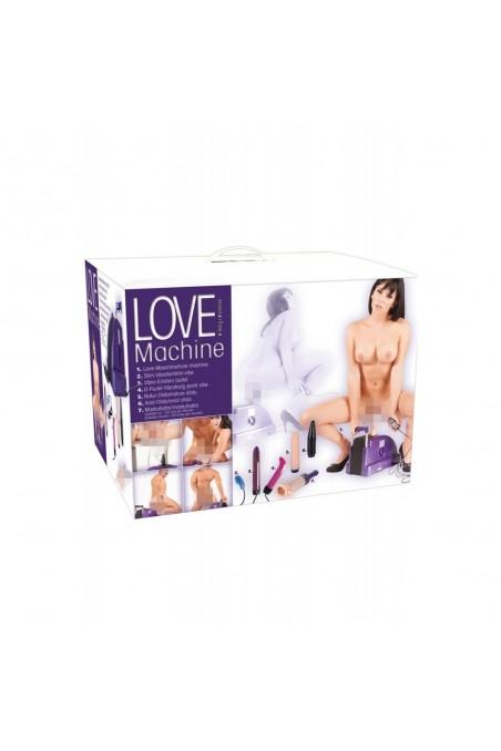 Sex Machine vaginale et anale avec accessoires