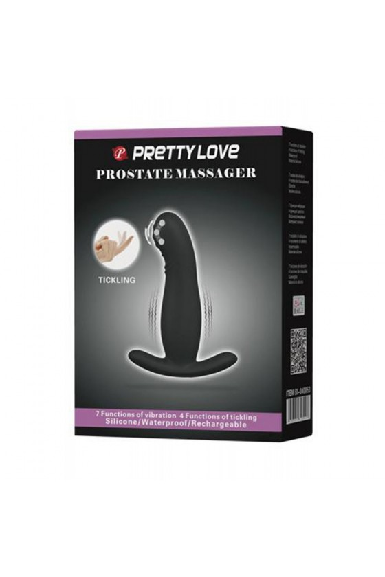 Plug stimulateur de prostate vibrant USB