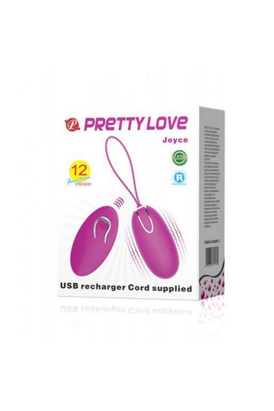 Oeuf vibrant puissant avec 12 programmes rechargeable USB