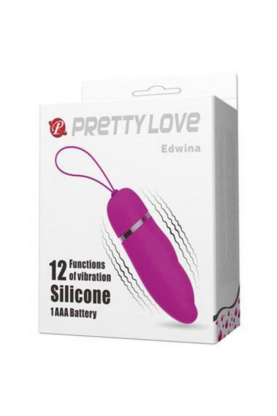 Oeuf vibrant et stimulateur de clitoris très puissant 12 vitesses
