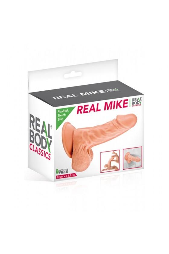 Gode réaliste avec testicules et ventouse 13cm