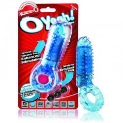Cockring Vibrant Oyeah - Bleu