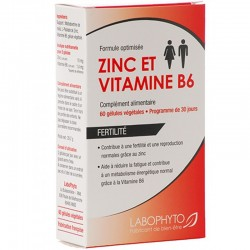 Zinc  vitamine B6 super concentrés 60 gélules