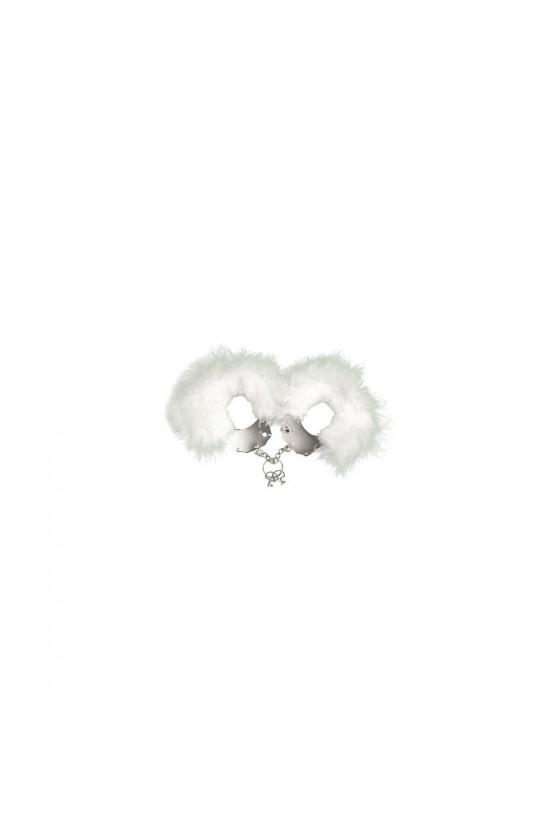 Menotte plume blanche