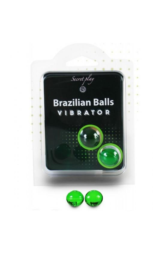 Boules de massage Brésiliennes effet vibrant