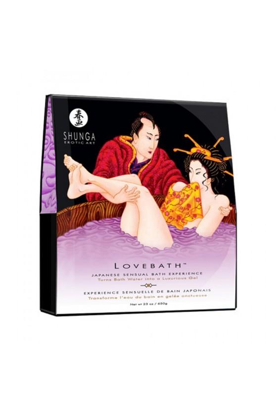 Sels de bain lotus japonais
