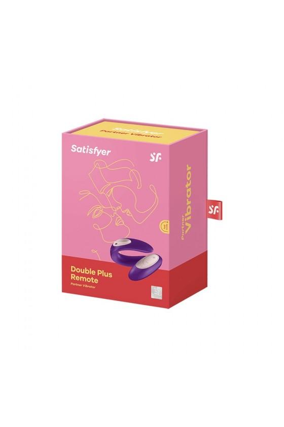 Stimulateur de couple Satisfyer Partner Plus télécommande - CC597128