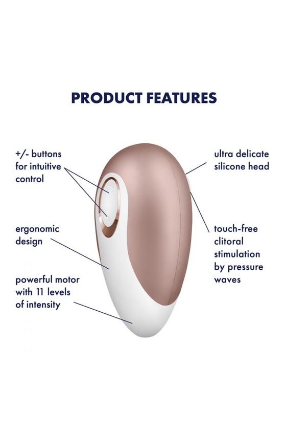 Stimulateur clitoridien Pro Deluxe Satisfyer - CC597117