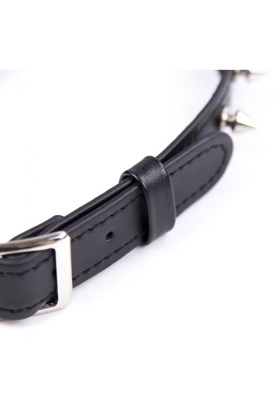 Collier réglable avec rivets en métal - 262402081