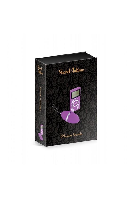Oeuf vibrant violet 10 vitesses télécommande écran LCD - CC5720000050