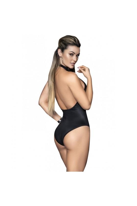 Body noir avec zip - MAL2662BLK