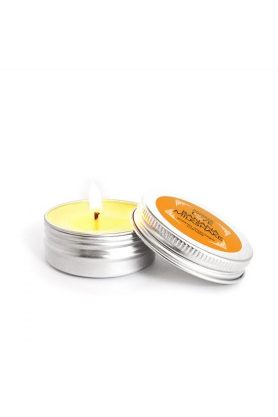 Mini Bougie de massage milshake banane 30ml - SEZ073