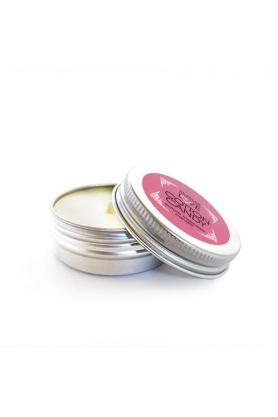 Mini Bougie de massage barbe à papa 30 ml - SEZ071