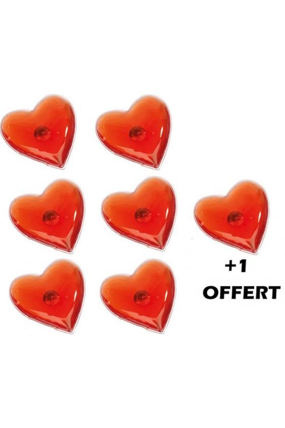 Coeur chauffant pour massage réutilisable - 100800X6