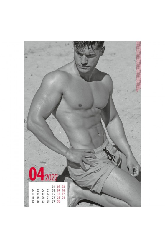 Calendrier Sexy 2022 Homme soft - R180432