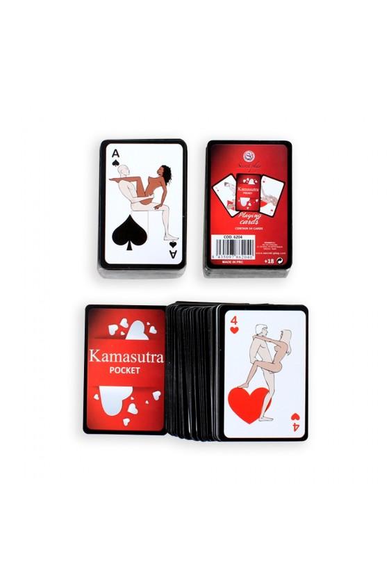 Mini jeu de 54 cartes Kamasutra - SP6204