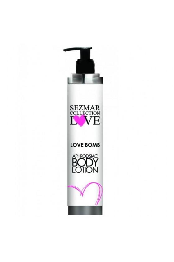 Crème hydratante aphrodisiaque de corps Love Bomb 200ml