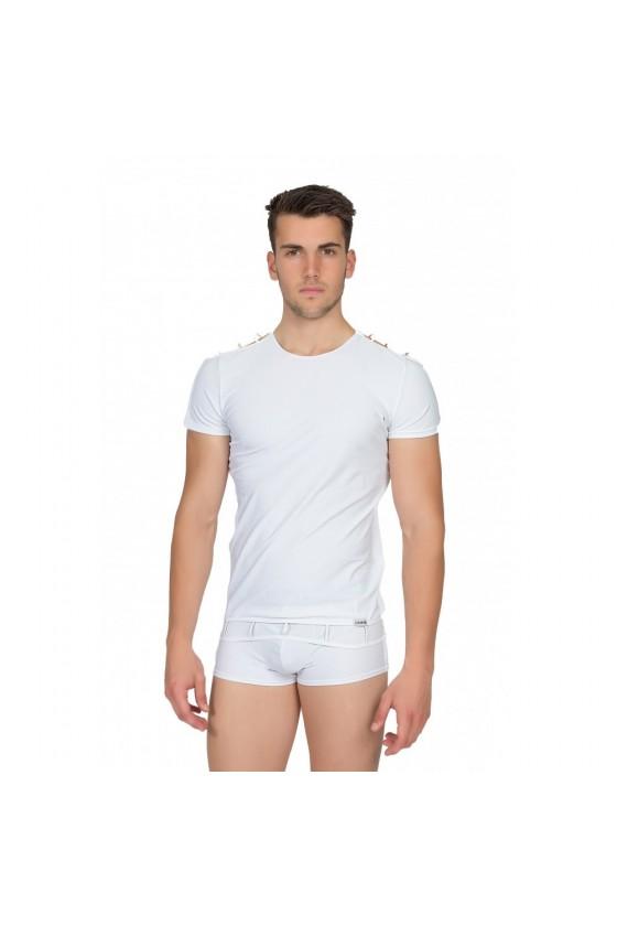T-Shirt Marker Blanc