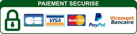 Paiement sécurisé CB PayPal / SSL